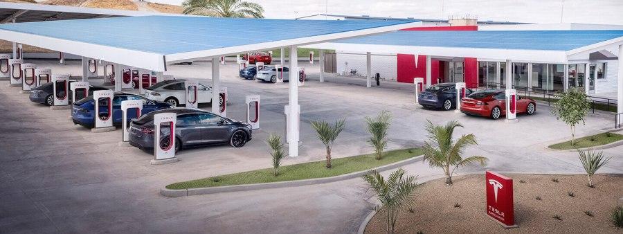 Tesla-Kettleman City-Supercharger