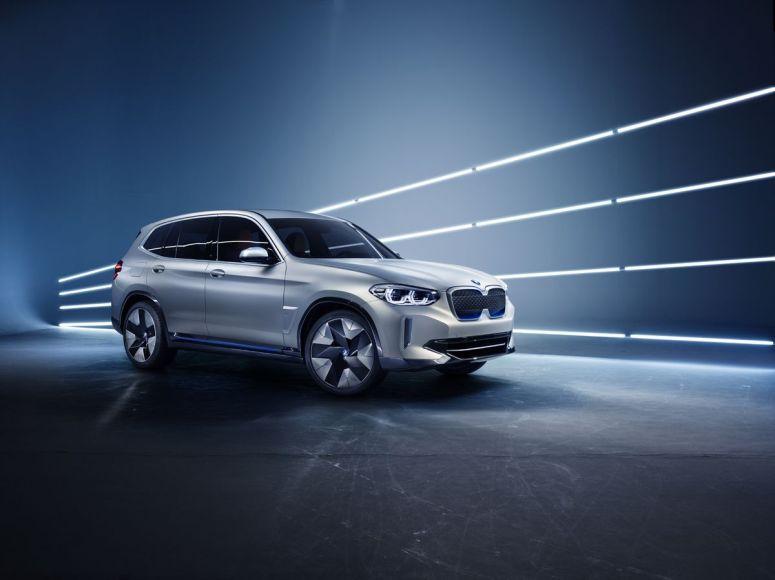 BMW iX3 in China