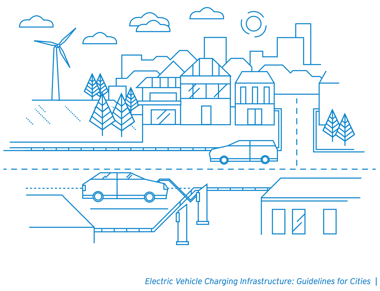 hight resolution of typically ev charging locations correspond to popular places such as city centers shopping areas train stations and university campuses