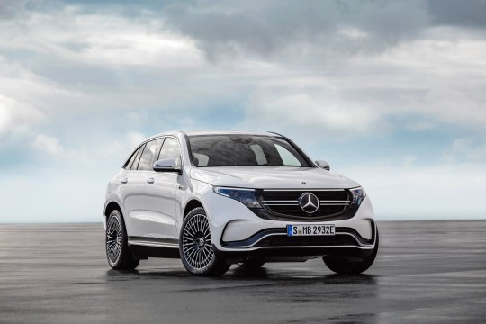 Image result for mercedes suv electric unveiled