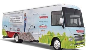 Winnebago RV EV electric lung cancer