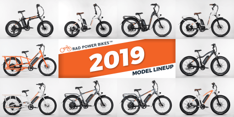 2019 Rad Power Bikes lineup