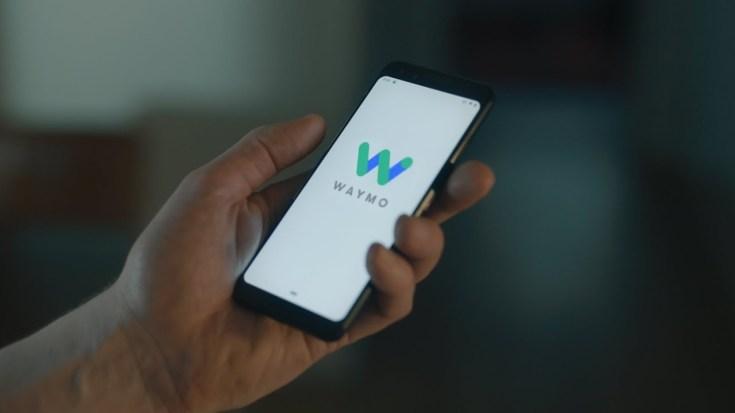 Waymo autonomous car