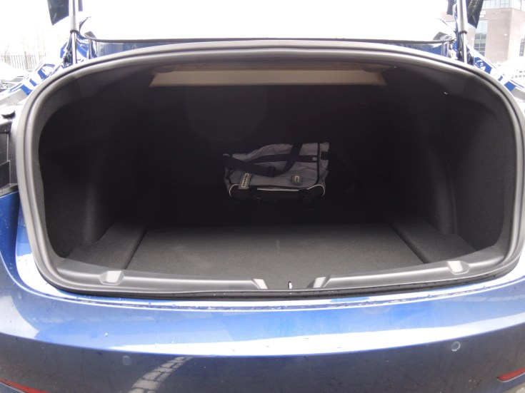 the trunk is big enough