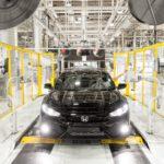 Honda production Swindon UK