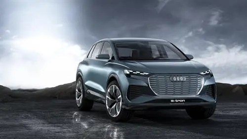 Audi Q4 electric suv