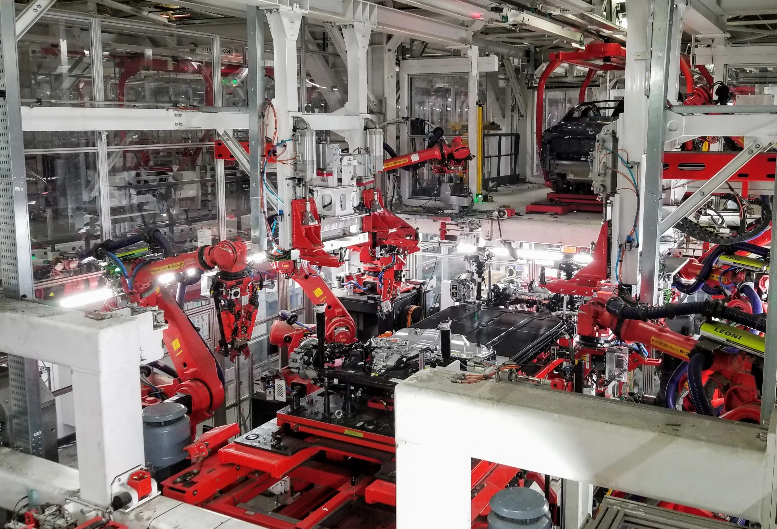 Vehicle Manufacturers Plant