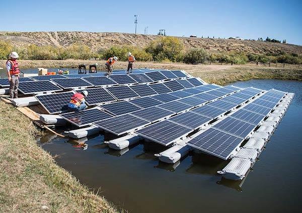 floating solar renewable energy