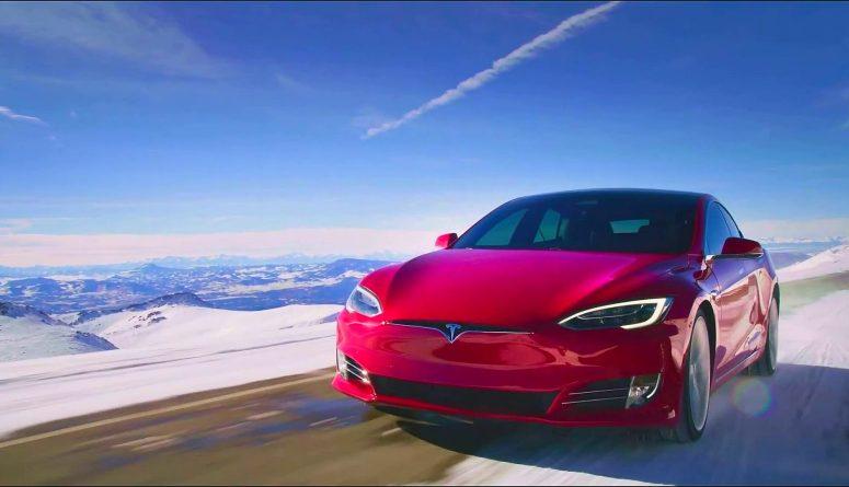 Tesla Model S (from Tesla Video)