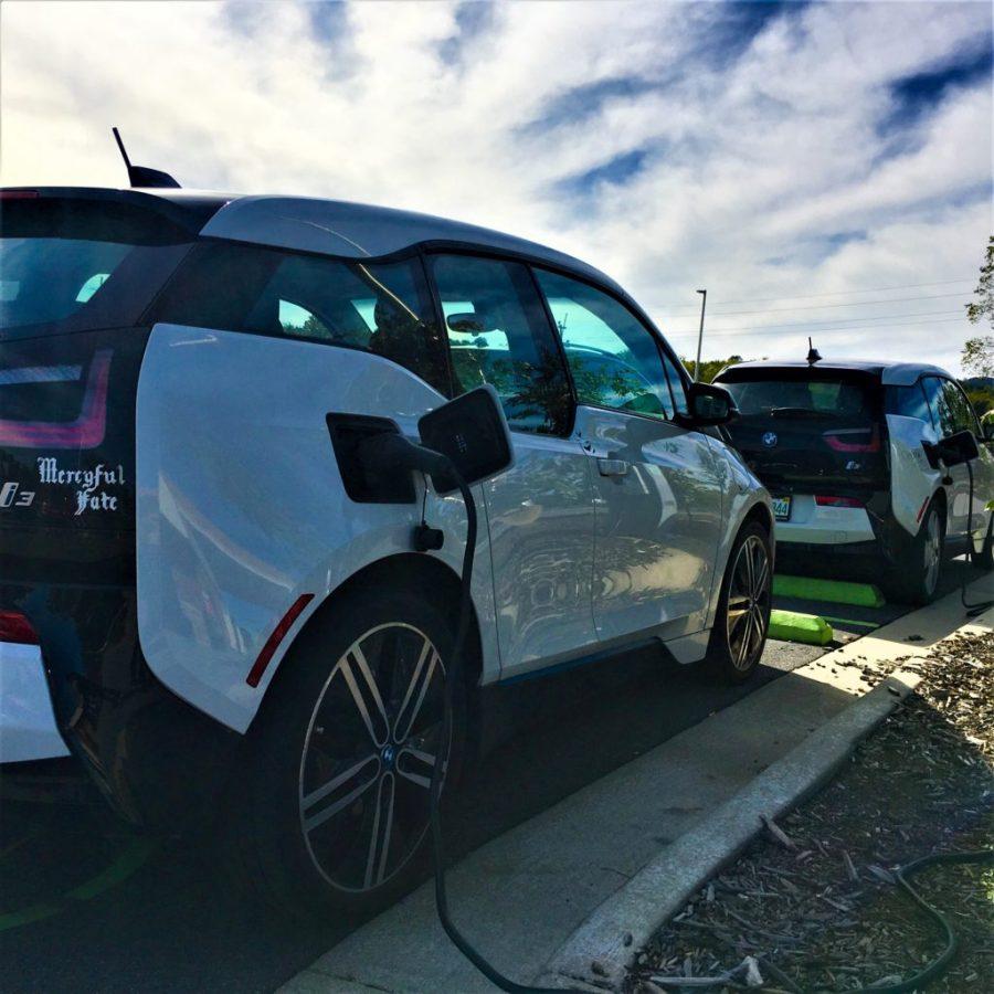 BMW i3s Charging North Carolina Cynthia Shahan | CleanTechnica