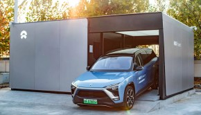 NIO Power battery swapping