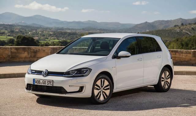 VW e-Golf Press Image