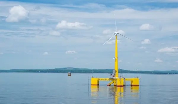 offshore wind farms floating turbines