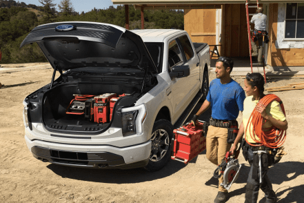 The Ford F-150 Lightning's Mega Power Frunk Will Be A HUGE Consumer Attraction | CleanTechnica