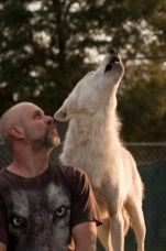 Frank and Trekkie Howling