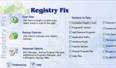 computer cleanup with Registry Fix Cleaner image