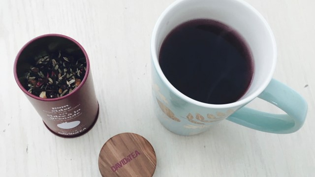 The perfect cup of Pom Cider tea - a new fall favourite in our house.
