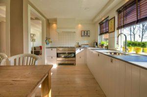 キッチンは汚れにくいお掃除でキレイを維持していきましょう