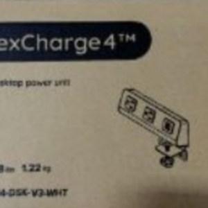 ESI Flexcharge Desktop Power Unit-White