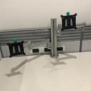 Workrite Conform Dual Monitor Arm