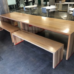Hightower Linden Table & Bench