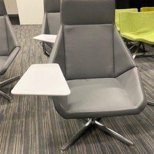 Arcadia Nios Lounge Chair with Tablet Arm
