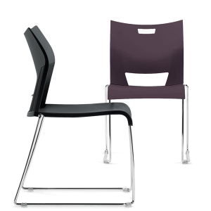 Duet Stackable Plastic Molded Chair