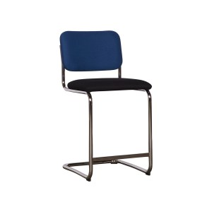 Knoll Cesca Armless Counter Stool, Navy Black