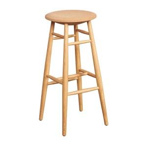 Hem Wooden Drifted Bar Stool With Cork Seat