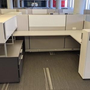 Allsteel Stride Workstations (6'D x 8'W x 42/50″H)