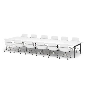 Poppin Series A Conference Table, 144″W