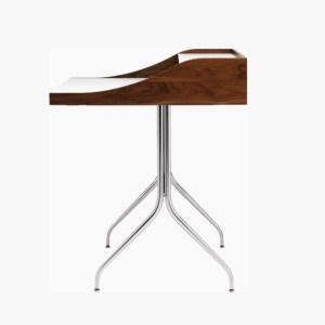 Herman Miller Nelson Swag Leg Desk Brown