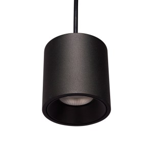 Deltalight Cylinder Pendant, Black