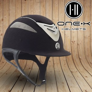 One K Helmets OneK Defender Suede Black Silver