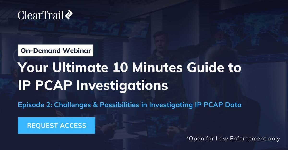 E 2: Challenges & Possibilities in Investigating IP PCAP Data