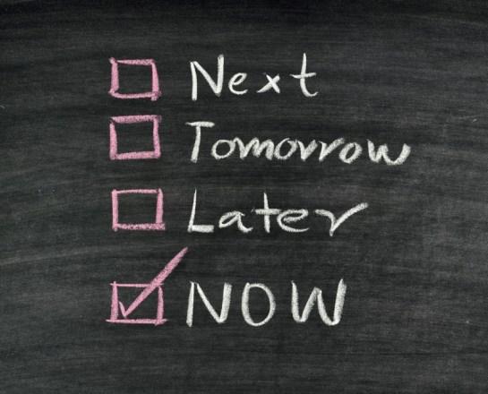 【先延ばし癖完全克服】人はなぜ、すぐに行動できないのか?今すぐやる人になるための3つの習慣