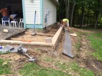 Paver Patio and Retaining Wall - ClearBrook Landscaping ...