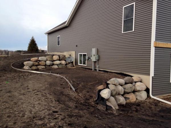 construction - lawn and landscape