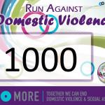 Make your own runner's bib for #RunAgainstDV
