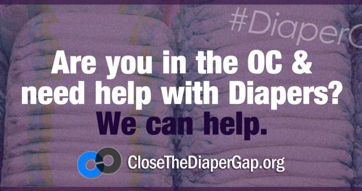 close the diaper gap