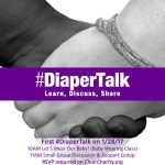 #DiaperTalk starts on 1/28/17