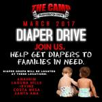 Diaper Drive at Camp Transformation Centers in OC!