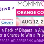 Diaper Drive at MommyCon Orange County