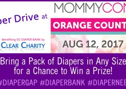 mommycon diaper drive