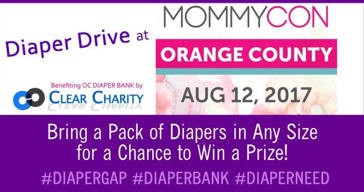 mommycon diaper drive