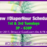 New Diaper Hours starting Oct 2017