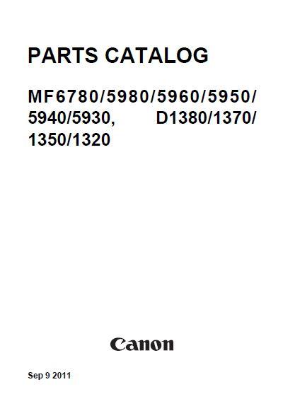CANON imageCLASS/ i-SENSYS MF5930dn, MF5950dw, MF6150dw