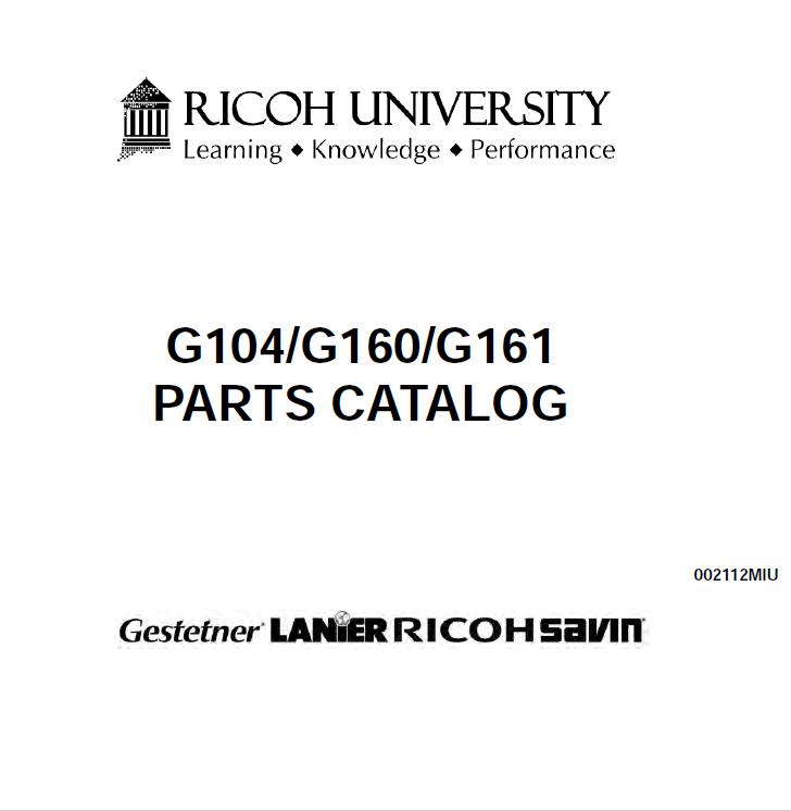GESTETNER P7425dn, Service Manual and Parts Manual