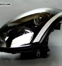 headlight clear reflector strip [ 1024 x 768 Pixel ]