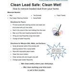 New Wet Clean Lead Safe